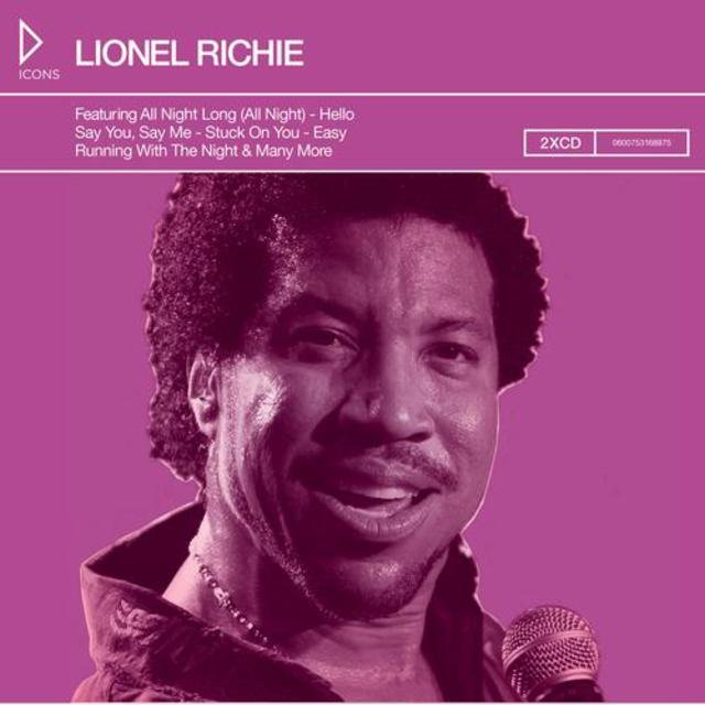 Icons: Lionel Richie and The Commordores