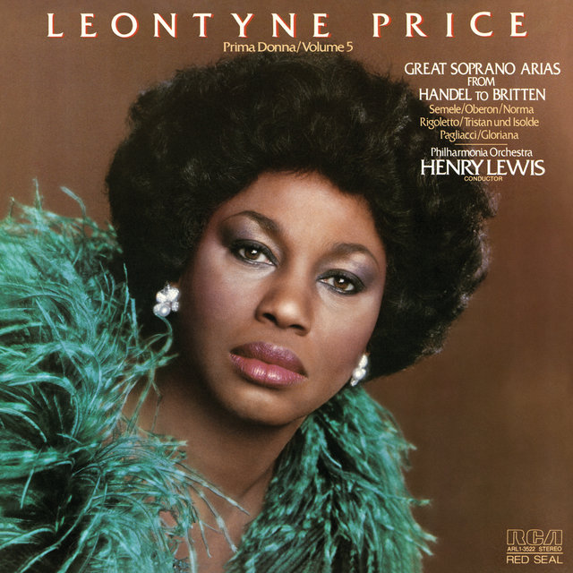Leontyne Price - Prima Donna Vol. 5: Great Soprano Arias from Handel to Britten