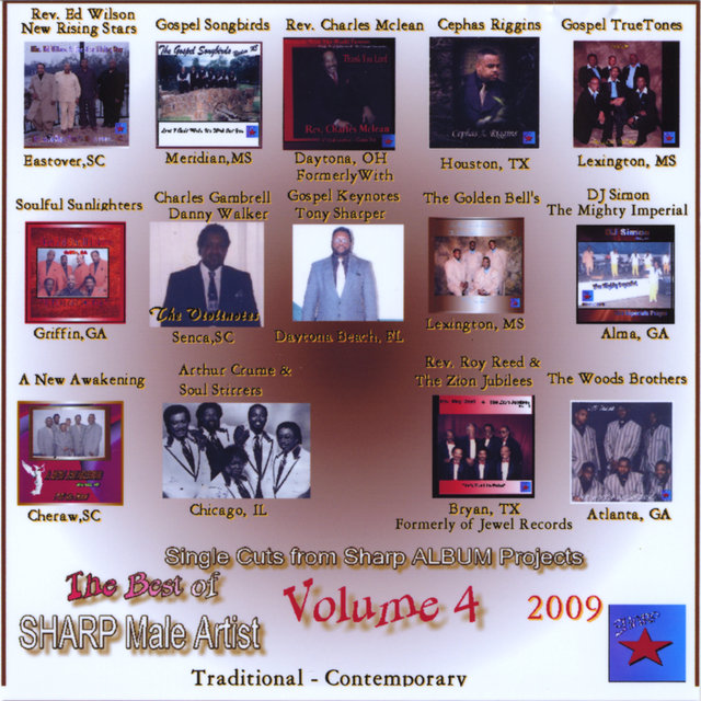 The Best of Sharp Male Gospel Artists, Vol. 4