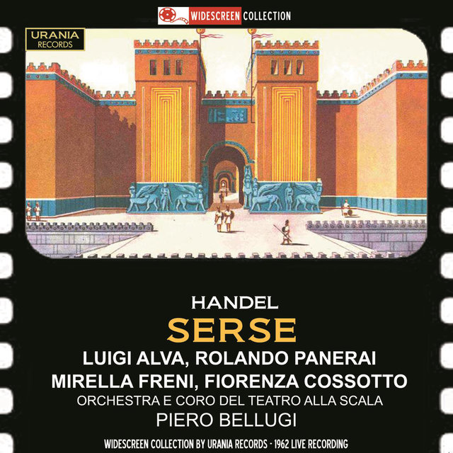 Handel: Serse, HWV 40 (Recorded 1962)