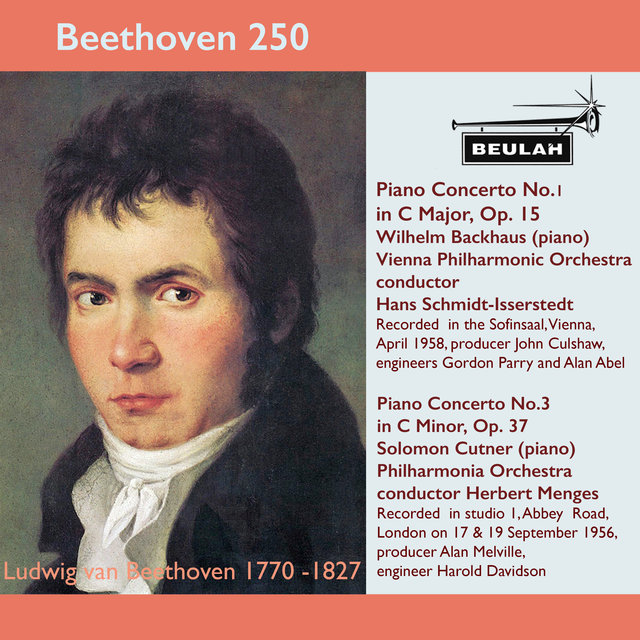 Beethoven 250 Piano Concertos 1 and 3
