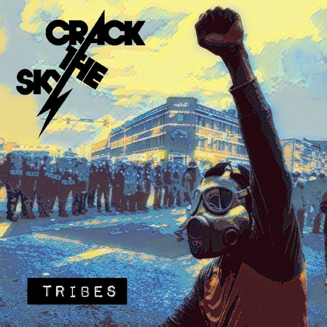 Cover art for album Tribes by Crack The Sky