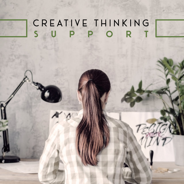 Creative Thinking Support – Natural New Age Melodies for Study and Work, Inspirational Thoughts, Smart & Brilliant, Intellectual Stimulation, Super Learning, Home Office