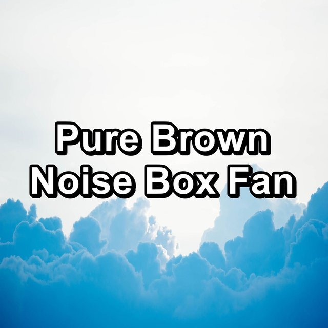 Pure Brown Noise Box Fan