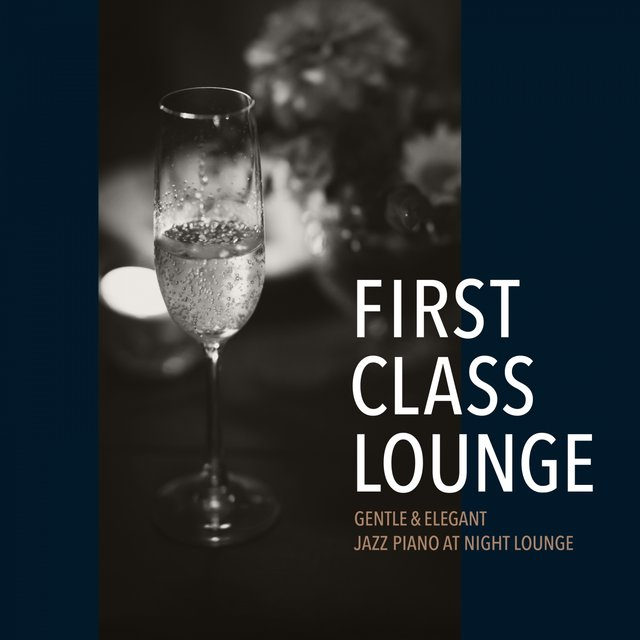 First Class Lounge ~gentle & Elagant Jazz Piano at Night Lounge~