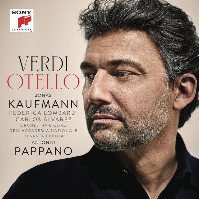 Cover art for album Verdi: Otello by Jonas Kaufmann