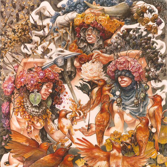 Cover art for album Gold & Grey by Baroness