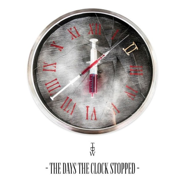 Cover art for album The Days the Clock Stopped by TDW