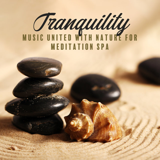 Tranquility - Music United with Nature for Meditation Spa, Relaxing Music Therapy, Stress Relief Yoga, Relaxed & Calming Flow to Clear Your Mind