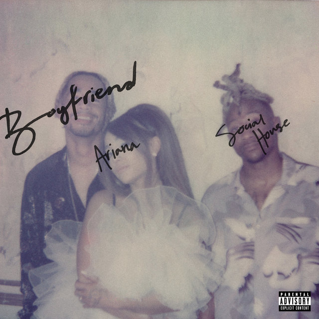 Cover art for album  by Ariana Grande, Social House