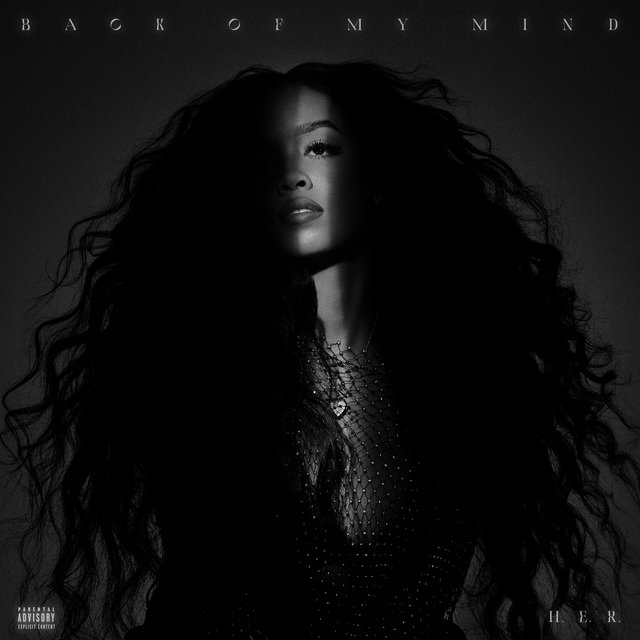 Cover art for album Back of My Mind by H.E.R.