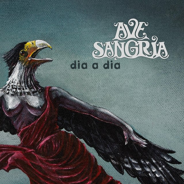 Cover art for album Dia a Dia by Ave Sangria