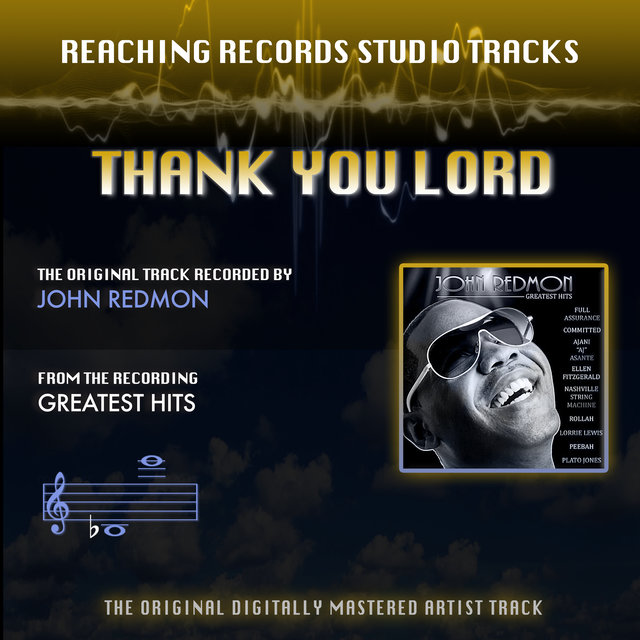 Thank You Lord (Reaching Records Studio Tracks)