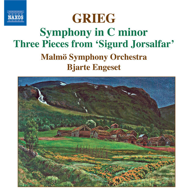 Grieg: Orchestral Music, Vol. 3: Symphony in C Minor - Old Norwegian Romance With Variations