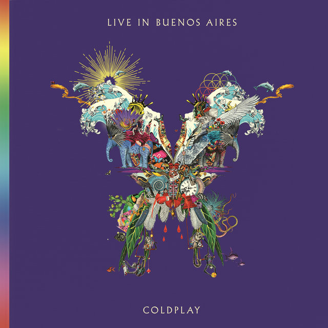 Cover art for album  by Coldplay