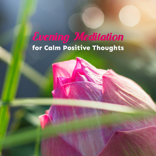 Evening Meditation for Calm Positive Thoughts - Soothing Nature Sounds for Sleep, Mindfulness, Spa, Healing Zen