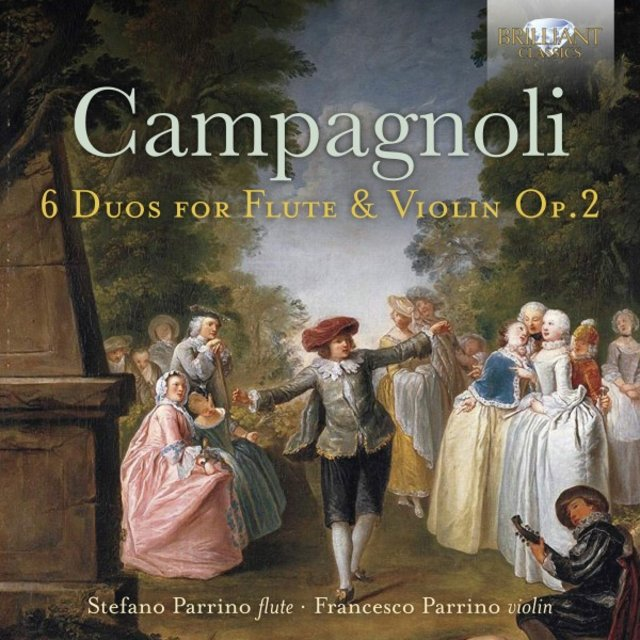 Campagnoli: 6 Duos for Flute and Violin, Op. 2