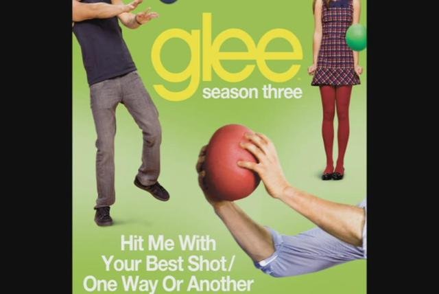Hit Me With Your Best Shot / One Way Or Another (Glee Cast Version) (Cover Image Version)