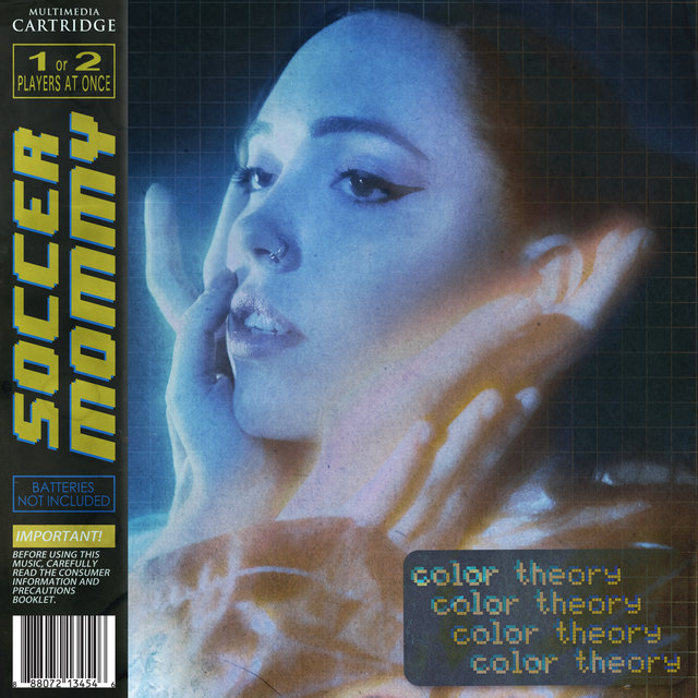 Cover art for album color theory by Soccer Mommy