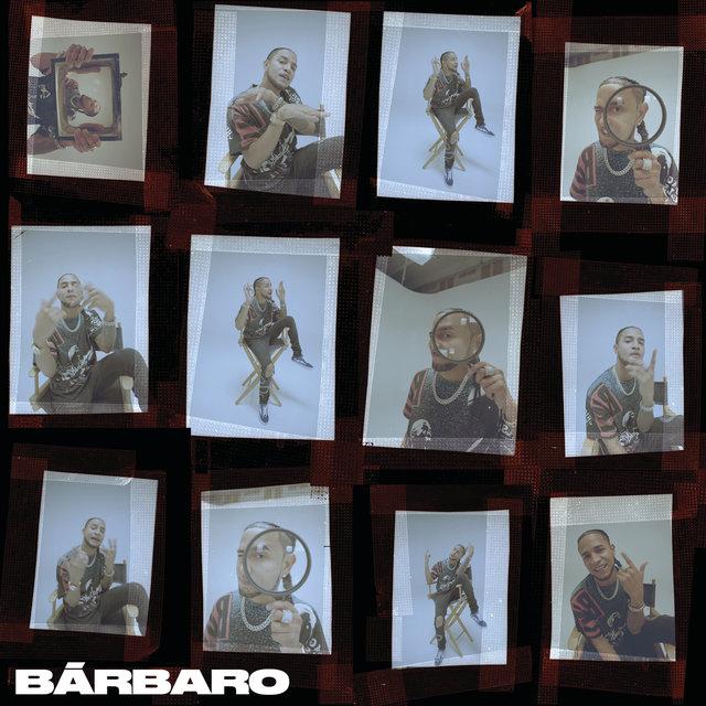 Cover art for album Bárbaro by Mozart La Para, Tainy