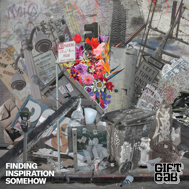 Cover art for album Finding Inspiration Somehow by Gift of Gab