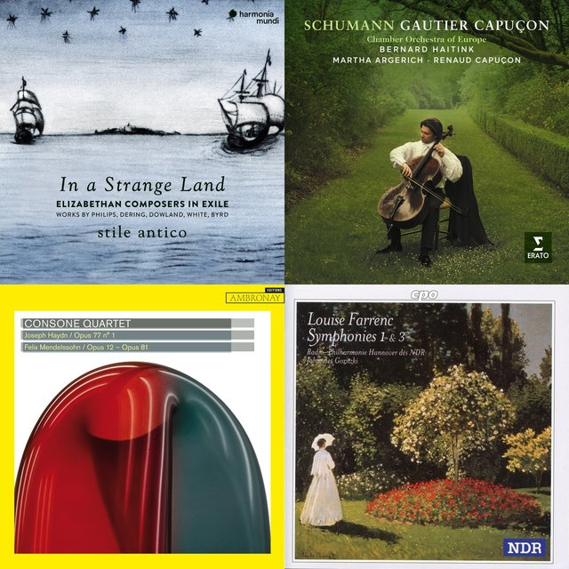 Cover art for album dCS Classical Choices January 2019 - Curated  by Charlotte Gardner by User