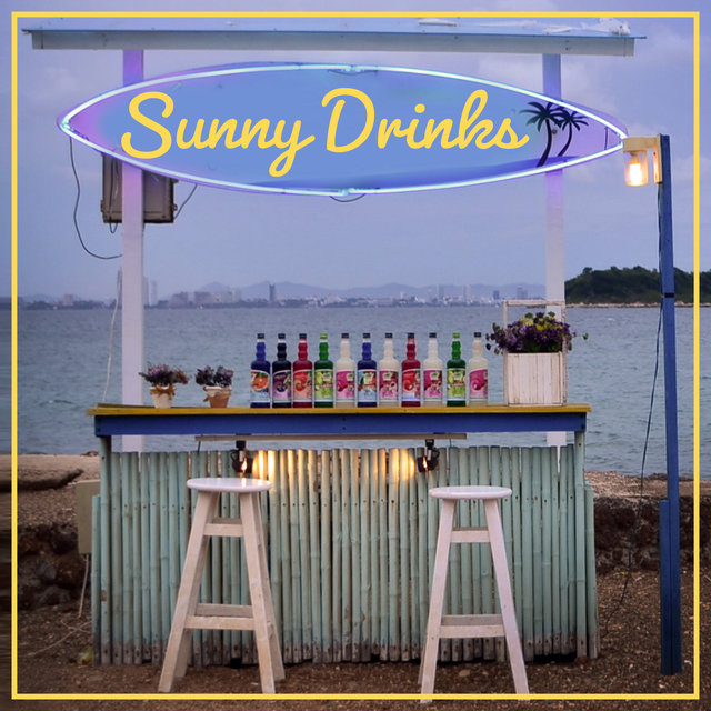 Sunny Drinks – Bar Lounge Ibiza Music, Holiday Sounds, Fun on the Beach, Cocktail Music