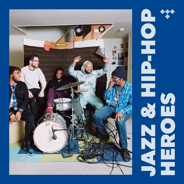 Cover art for album Jazz & Hip-Hop Heroes by TIDAL