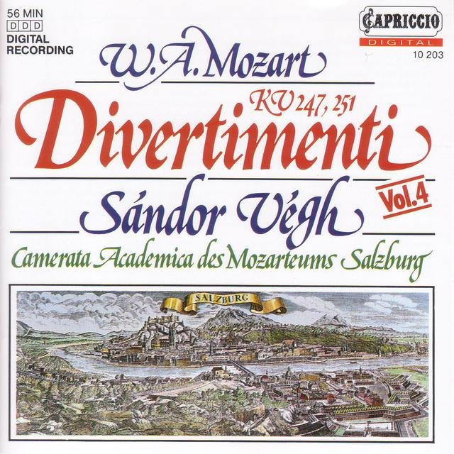 Mozart, W.A.: Divertimenti Nos. 10 and 11