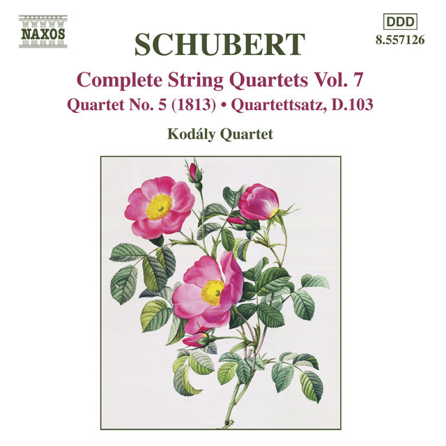 Schubert: String Quartets (Complete), Vol. 7