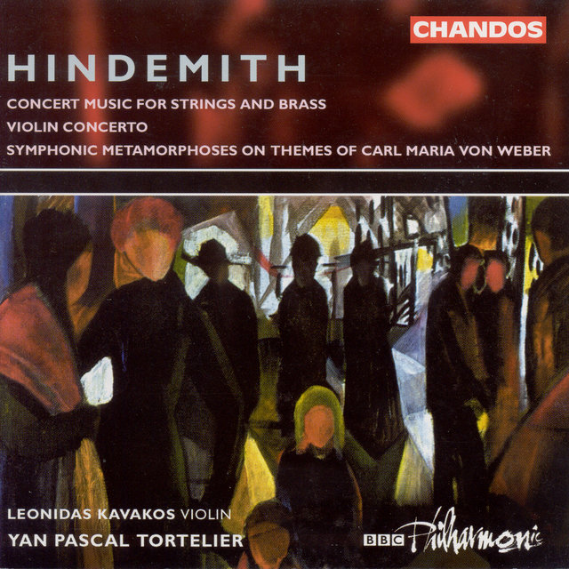 Hindemith: Violin Concerto / Symphonic Metamorphosis After Themes by Carl Maria Von Weber