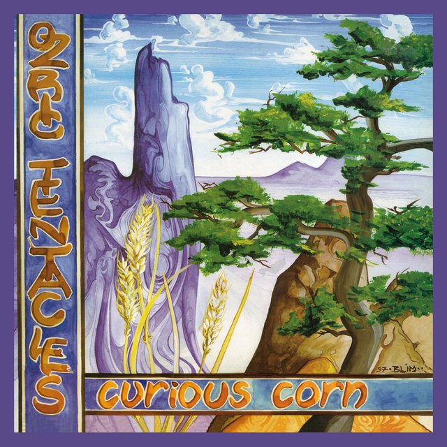 Cover art for album Curious Corn (2020 Ed Wynne Remaster) by Ozric Tentacles