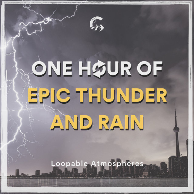 1 Hour Of Epic Thunder And Rain