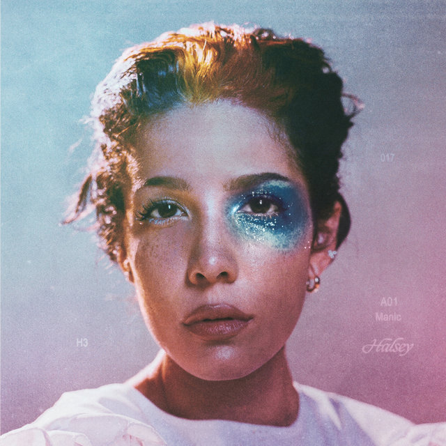 Cover art for album Manic by Halsey