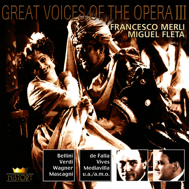 Great Voices Of The Opera Vol. 5