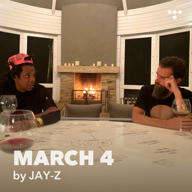 Cover art for album MARCH 4 by JAY-Z