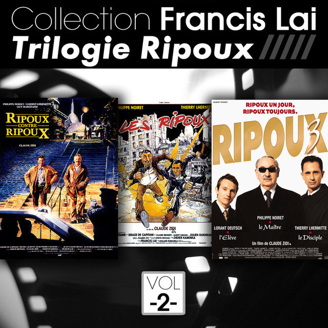 Collection Francis Lai: Trilogie Ripoux, Vol. 2 (Bandes originales de films)