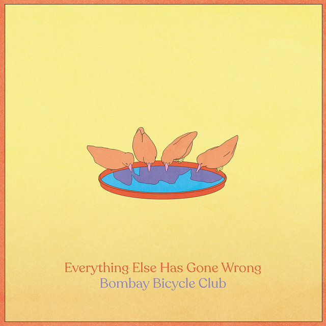 Cover art for album Everything Else Has Gone Wrong by Bombay Bicycle Club