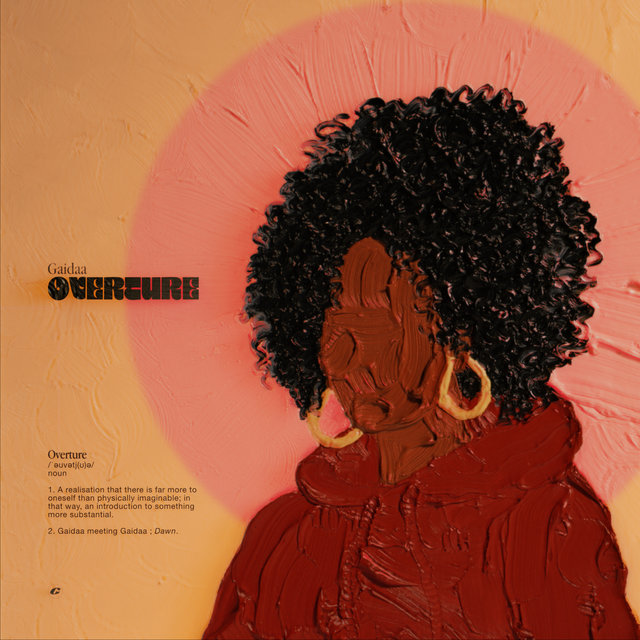 Cover art for album Overture by GAIDAA