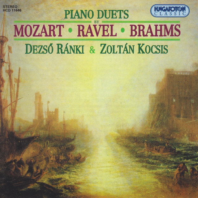 Brahms / Mozart / Ravel: Works for 2 Pianos