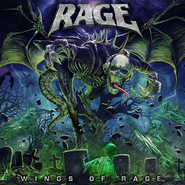 Cover art for album Wings of Rage by Rage