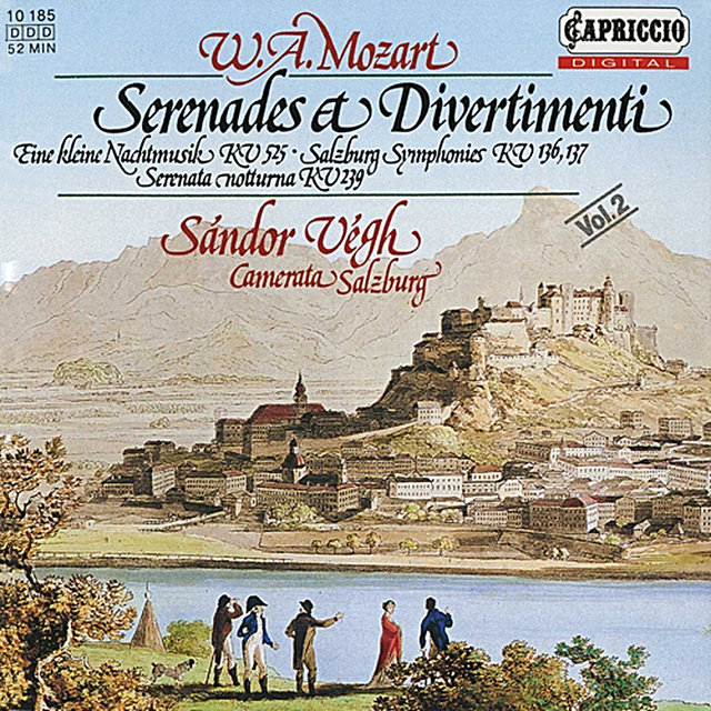 Mozart: Serenades & Divertimenti, Vol. 2