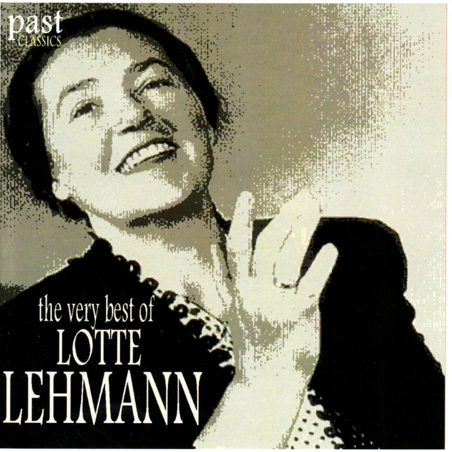 The Very Best of Lotte Lehmann