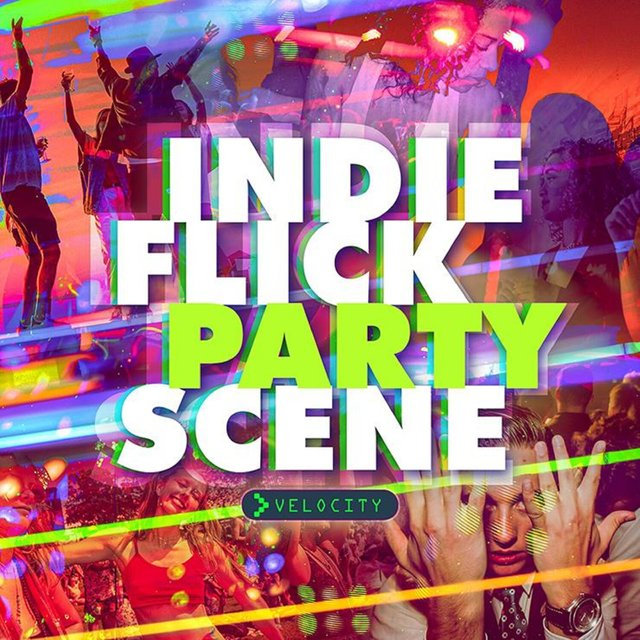 Indie Flick Party Scene