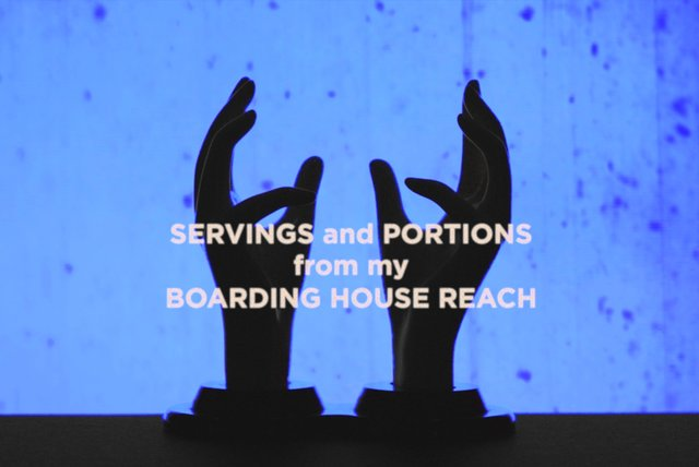 Servings and Portions from my Boarding House Reach