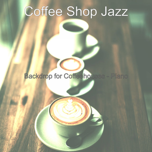 Backdrop for Coffeehouses - Piano