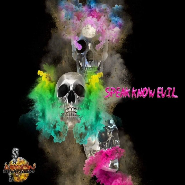 Cover art for album Speak Know Evil by Cris O-D