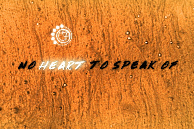 No Heart To Speak Of (Lyric Video)