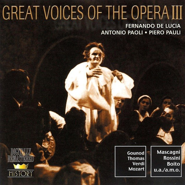 Great Voices Of The Opera Vol. 2