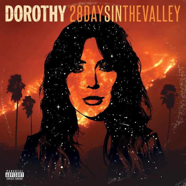 Cover art for album 28 Days In The Valley by DOROTHY